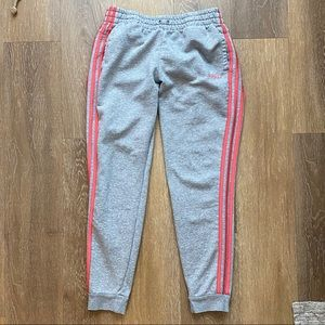 ADIDAS Sweats / Grey & Hot Pink